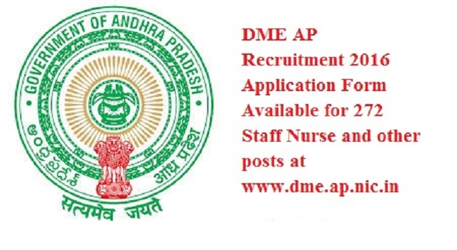 DME AP Recruitment 2016