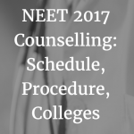 NEET 2017 Counselling